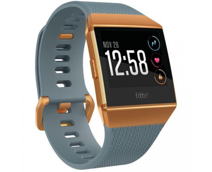 Fitbit Ionic watch Slate Blue/Burnt Orange One Size (FB503CPBU)