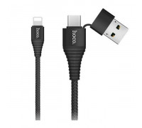 Кабель USB Hoco U26 Multi-functional Black