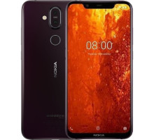 Смартфон Nokia 8.1 6/128GB Night Red