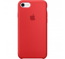 Apple iPhone 7 Silicone Case - (PRODUCT)RED MMWN2