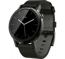 Motorola Moto 360 2nd Gen. Men's Smartwatch 42mm Steel - Black Leather (00903NARTL)