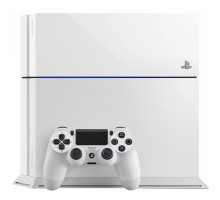 Sony PlayStation 4 (PS4) Glacier White