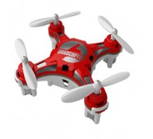 Мини квадрокоптер FQ777-124 Pocket Drone Red