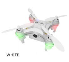 FQ777 954 RTF Drone Dron Quadrocopter Eyes RC Quadcopter Nano WIFI Drone with Camera 480P FPV 6AXIS GYRO Mini Drone RTF (White)