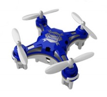 Мини квадрокоптер FQ777-124 Pocket Drone Blue