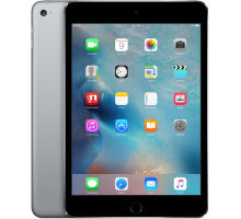 Apple iPad mini 4 Wi-Fi + Cellular 128GB Space Gray (MK8D2, MK762)