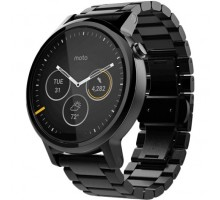 Motorola Moto 360 2nd Generation Men's 46mm Steel - Black Steel (00905NARTL)
