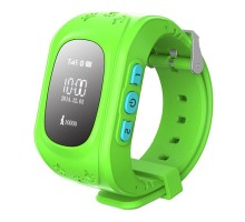 Детские умные часы Smart Baby Q50 GPS Smart Tracking Watch Green