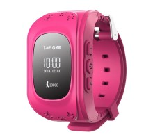 Детские умные часы Smart Baby Q50 GPS Smart Tracking Watch Pink