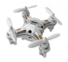 Мини квадрокоптер FQ777-124 Pocket Drone White