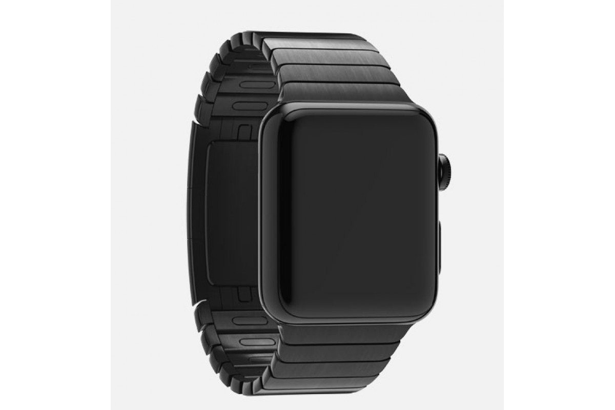 space black stainless steel watch - HD1200×800