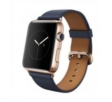 Apple Watch Edition 42mm 18-Karat Rose Gold Case with Midnight Blue Classic Buckle