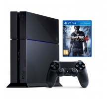 Sony PlayStation 4 (PS4) + Uncharted 4: The end of the Thief - Limited edition